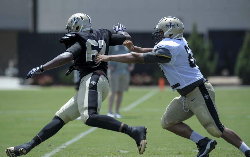 Video: Return of safety Jairus Byrd highlights the Saints' Tuesday practice _lowres