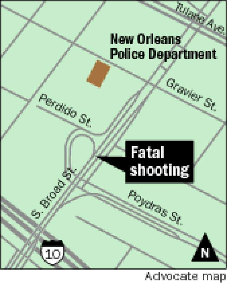 One man killed, another injured in shootings near New Orleans Police Department headquarters _lowres