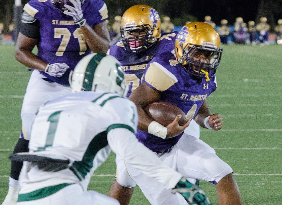 St. Augustine's Lanard Fournette, younger brother of LSU star Leonard, commits to the Tigers as an athlete _lowres