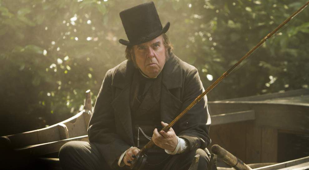 Review: Spall ideal in biopic of British painter Turner _lowres