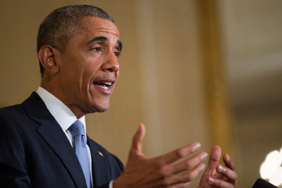 President Barack Obama commutes federal prison sentences for nonviolent drug offenders from New Orleans, Thibodaux _lowres