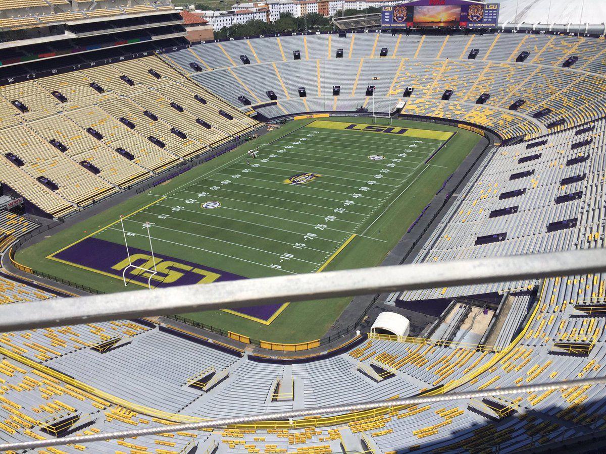 Mike The Tiger Lsu Stadium
