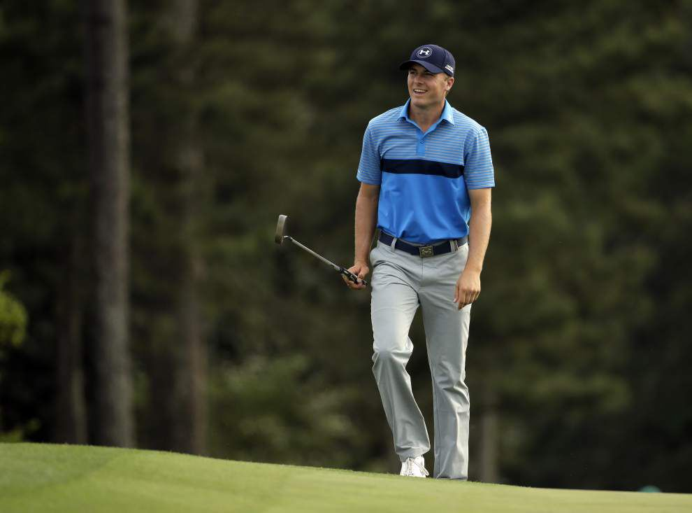 Rabalais: Super Spieth turned the opening round of the Masters into a video game _lowres