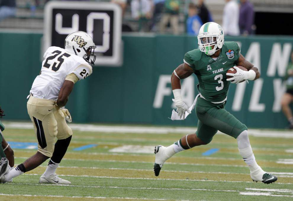Tulane football has issues on offense — but running back isn't one of them _lowres