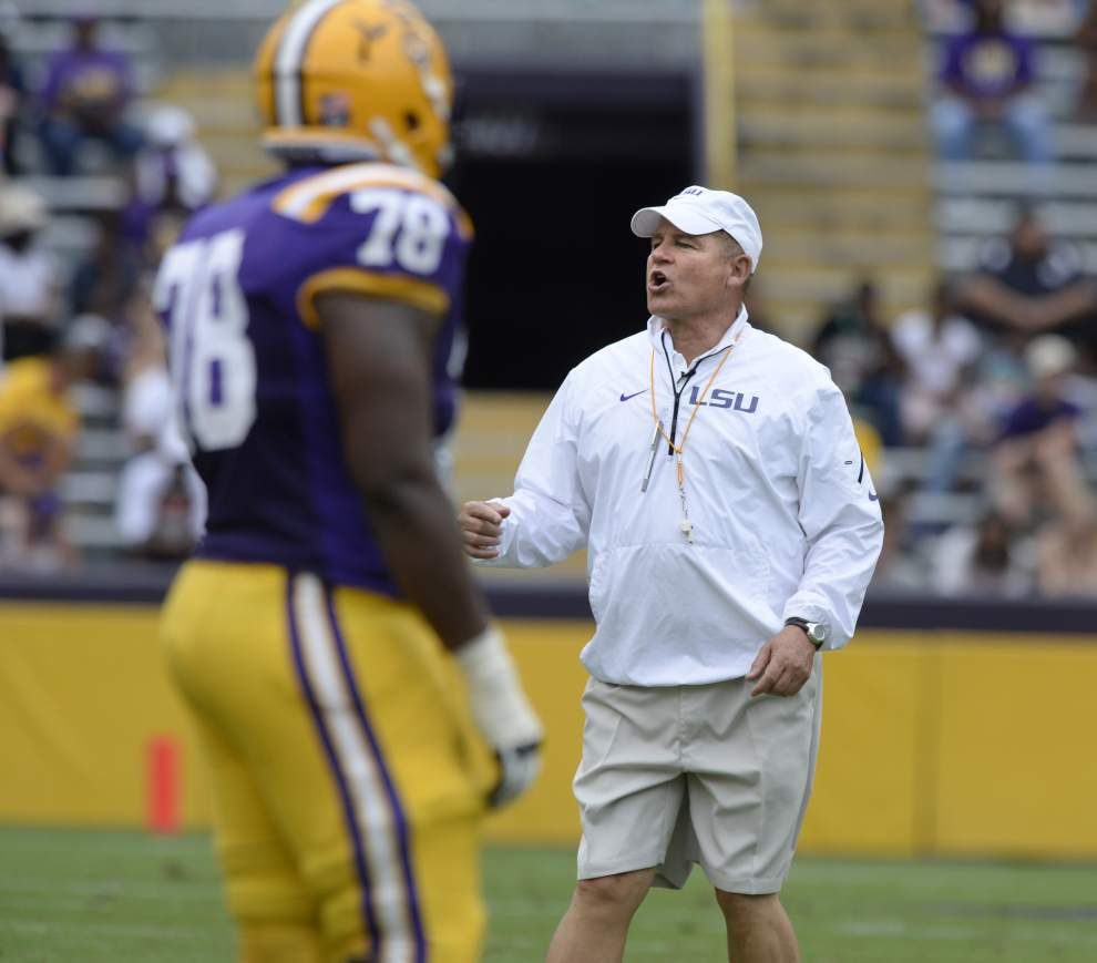 LSU spring game notes: Les Miles says DT Travonte Valentine remains suspended _lowres