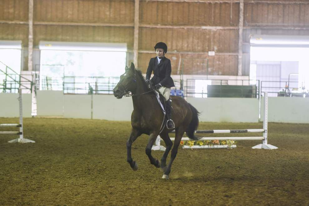 Photos: Youth riders compete in English, Western-style horse show at BREC's Farr Park _lowres