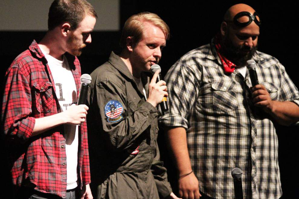 Like a family dinner: Troupe serves up laughs with spoof, improv nights _lowres