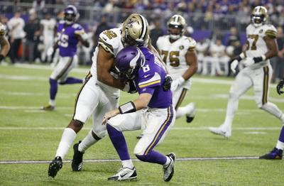 Marcus Davenport Ruled Out For Sunday S Game Against Bengals