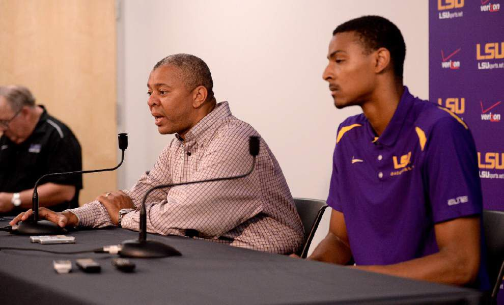 LSU forward Mickey staying for his sophomore season _lowres