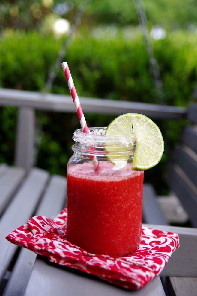 Frozen Strawberry Margarita _lowres