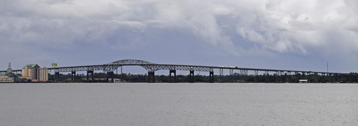 Photos Hurricane Laura Blows Riverboat Casino Into I 10 Bridge Supports In Lake Charles Weather Traffic Theadvocate Com