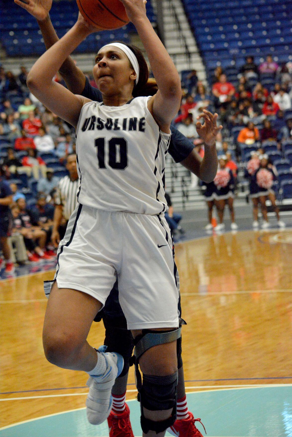 LHSAA State Girl's Basketball Championship Kourtney Weber