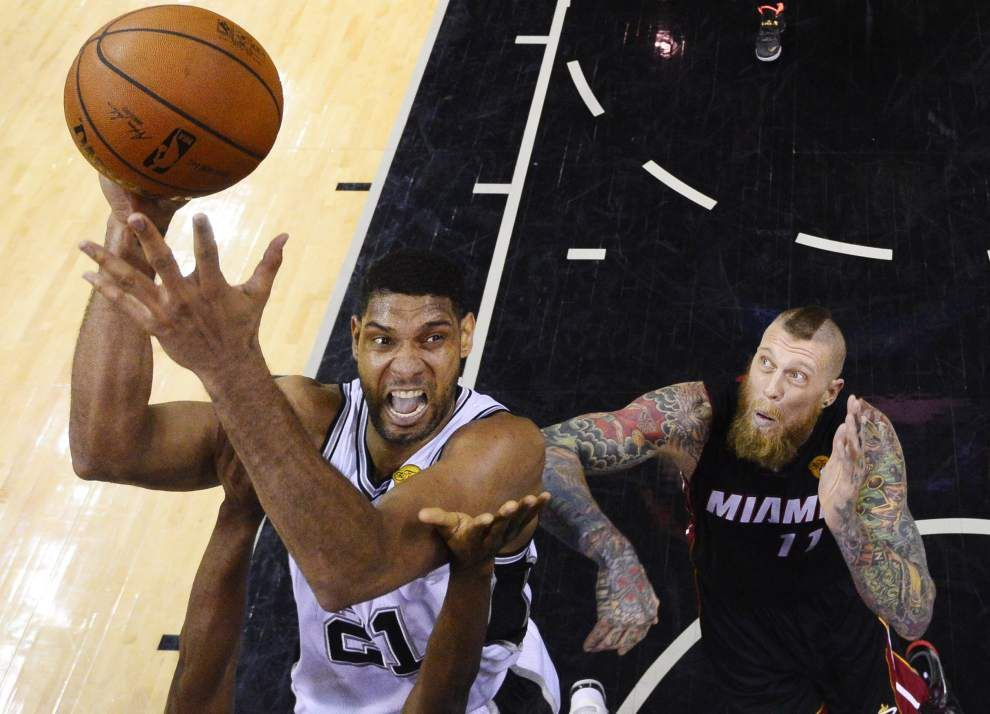 Heat expecting Spurs to be inspired after loss in Game 2 _lowres