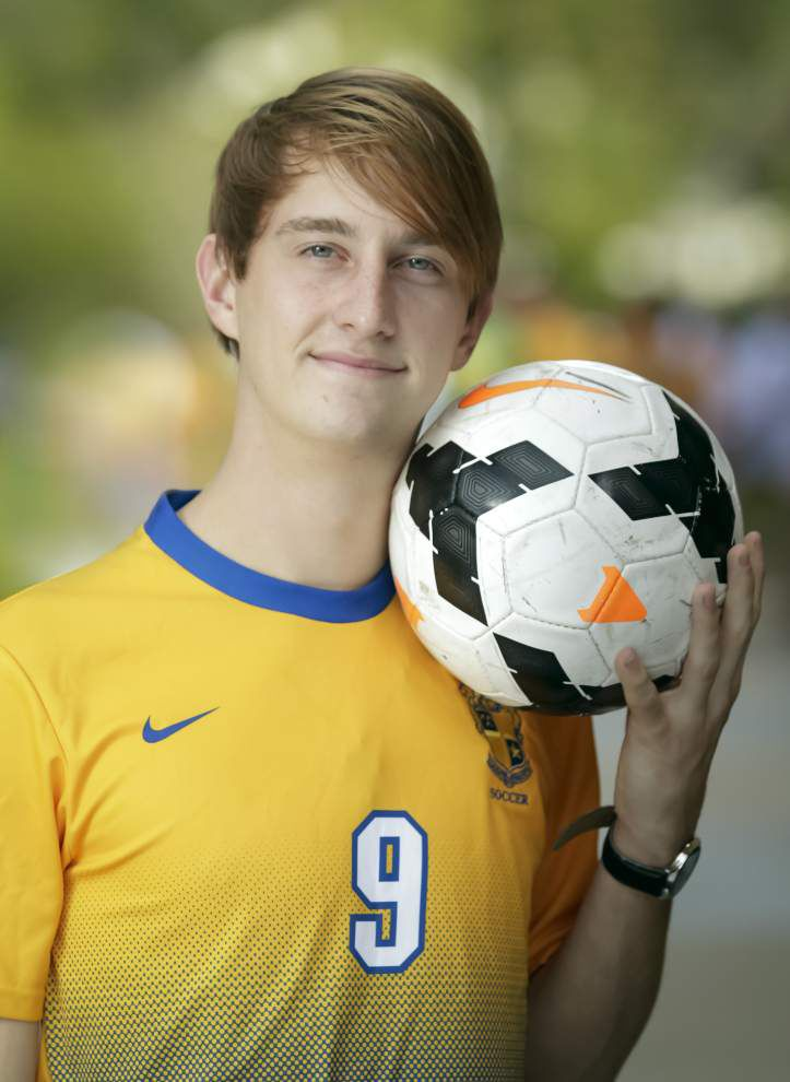 The New Orleans Advocate All-Metro boys soccer team: St. Paul's Colin Ross named Outstanding Player _lowres
