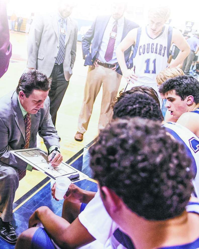 Now with 900 career wins, St. Thomas More's Danny Broussard has touched a lot of lives since taking over as a 23-year-old _lowres