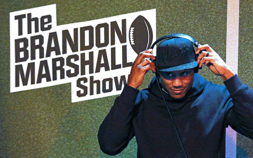 Chicago wide receiver Brandon Marshall: Saints-Bears should be moved off Monday Night Football _lowres