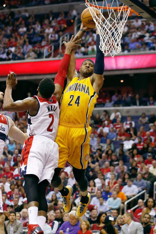Paul George leads Pacers' rout of Wizards _lowres