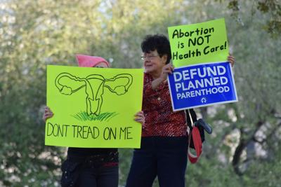 Legislation, lawsuit show push-pull over abortion rights in Louisiana_lowres