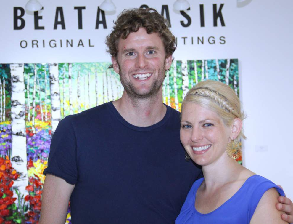 Steven Forster's Party Central: Beata Sasik opens for Art Walk _lowres
