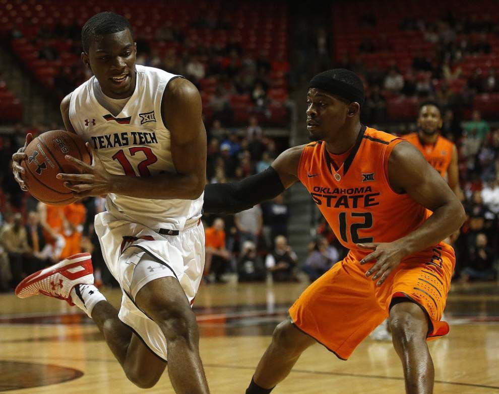 Former LSU guard Anthony Hickey is thankful for his new home at Oklahoma State _lowres