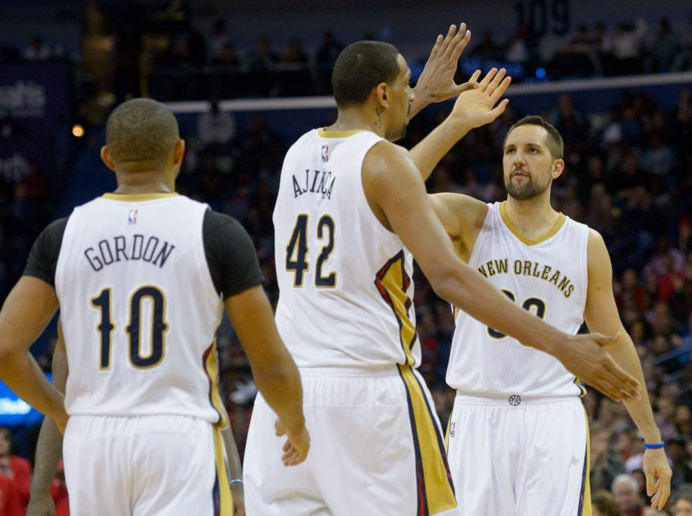 Video: Pelicans backup center Alexis Ajinca comes up big in win against the Clippers _lowres