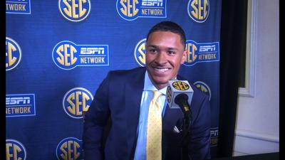 SEC Media Days: Grant Delpit
