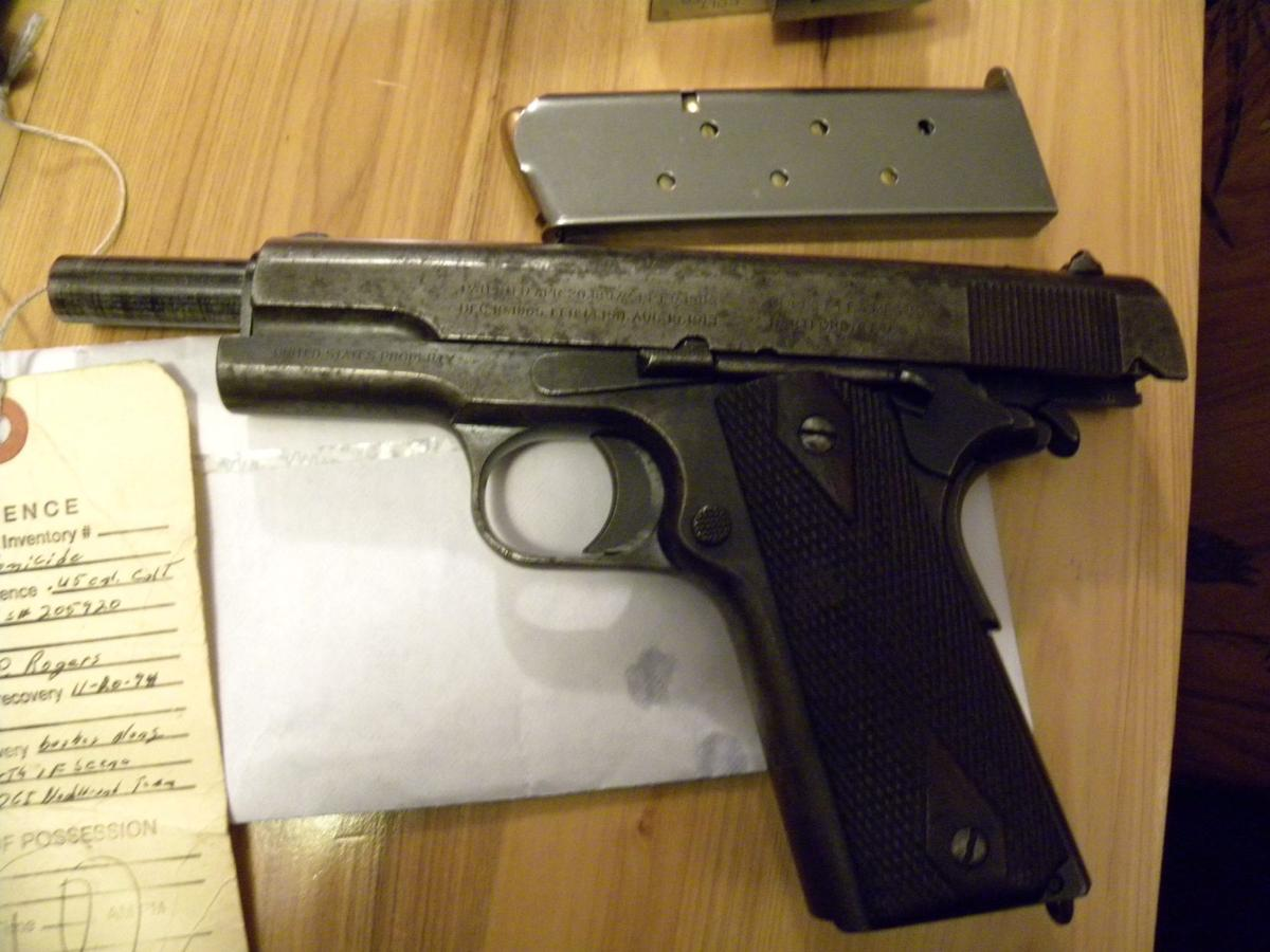 Nate Cain's gun