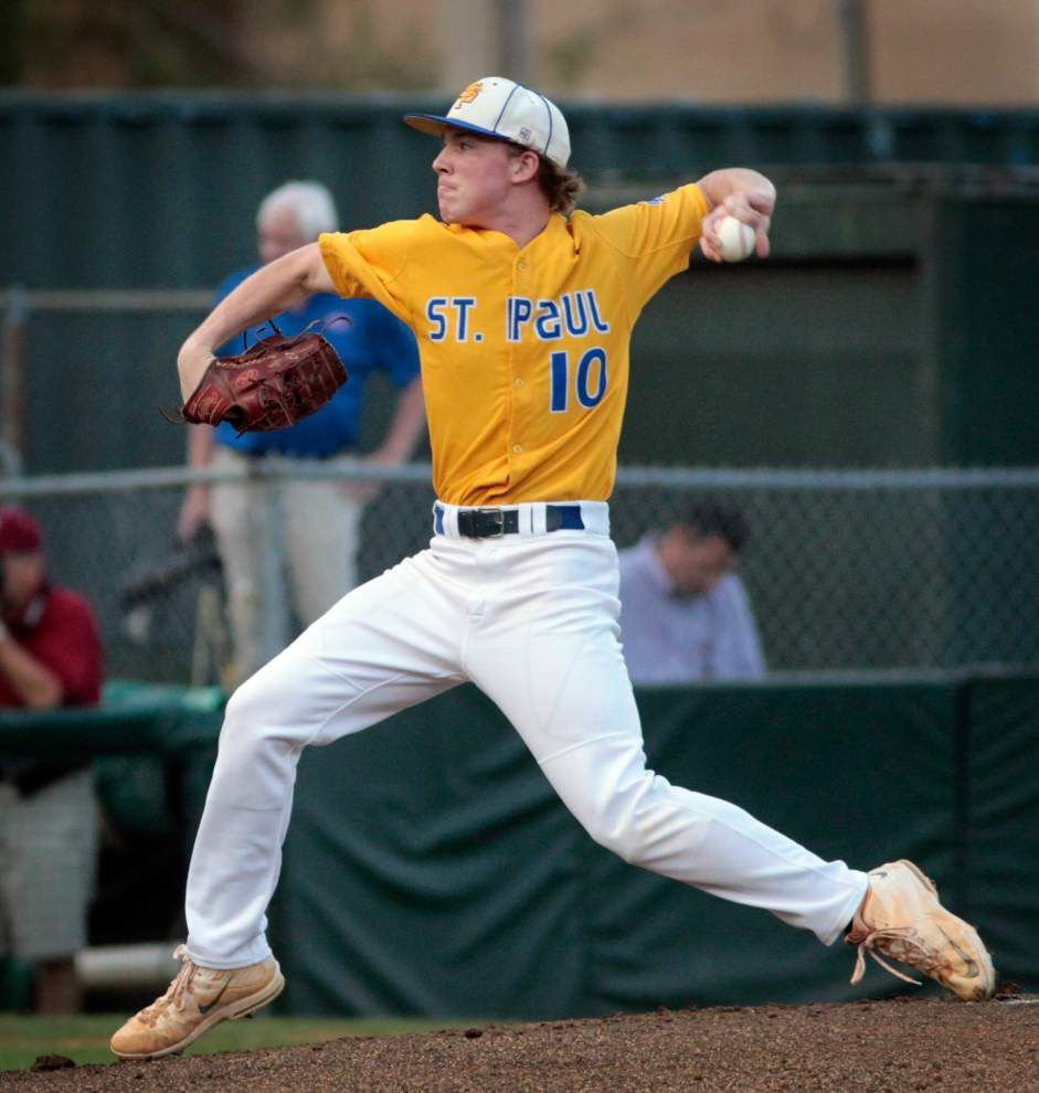 LHSAA baseball playoffs: Brother Martin's 10-run, sixth-inning outburst pushes them past St. Paul's _lowres