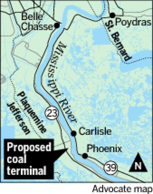 Army Corps gives OK to Plaquemines coal terminal _lowres