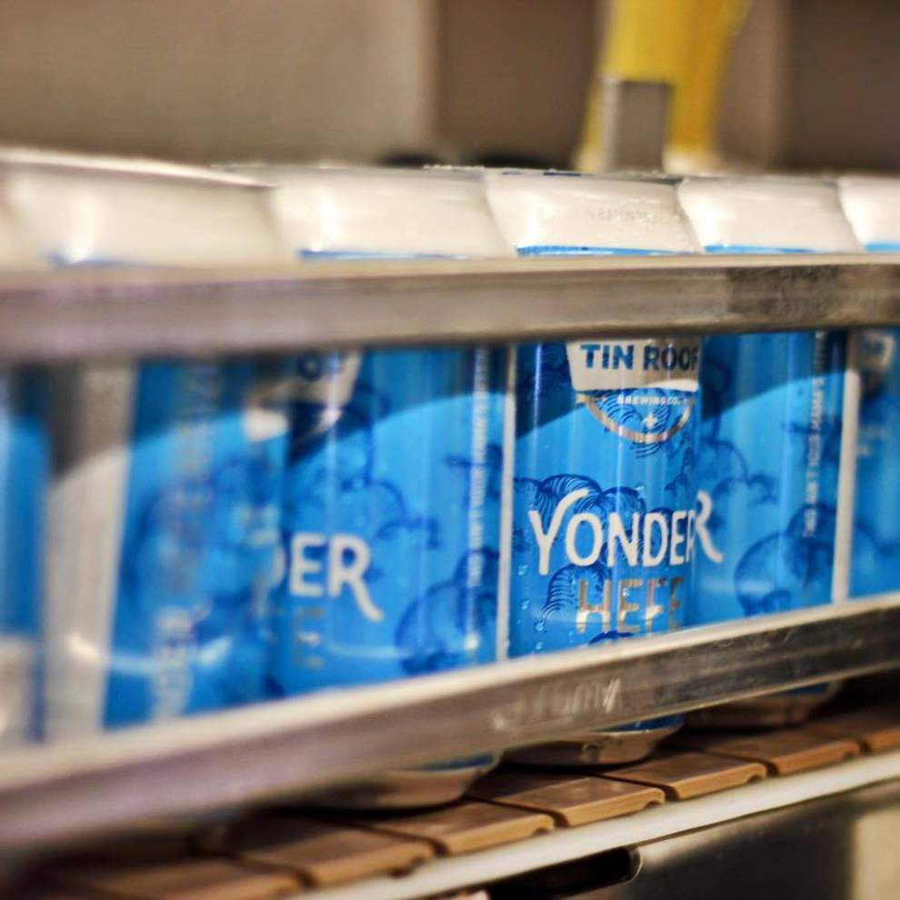 Baton Rouge's Tin Roof to release seasonal Yonder Hefe, single batch Smiling Ivan in late February _lowres