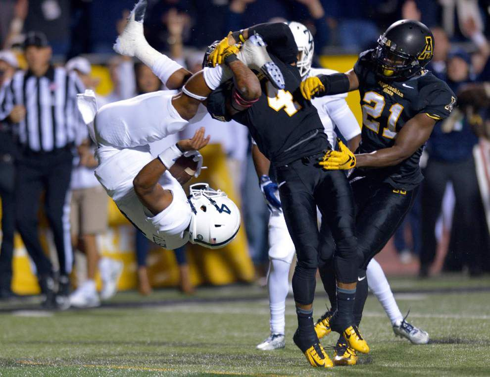 Ragin' Cajuns coach Mark Husdpeth impressed with Appalachian State's 'sound' defense _lowres