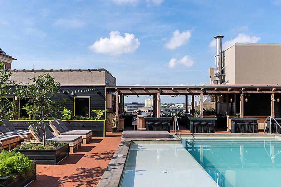 Five New Orleans hotel pools open to the public_lowres