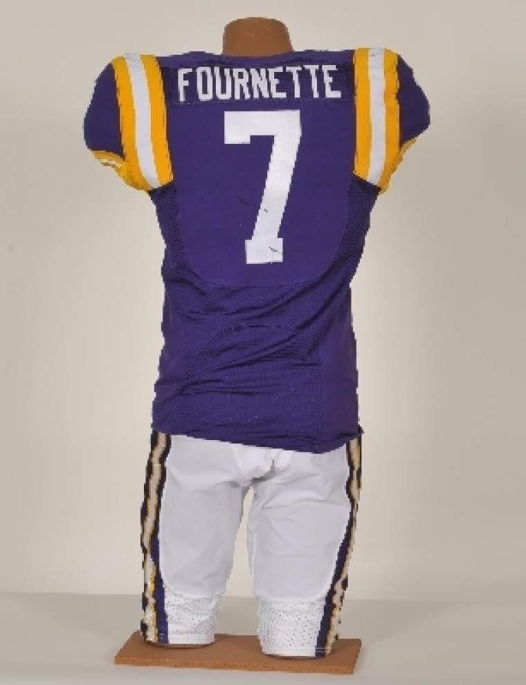 best website 23704 9e5c4 On enormous response to Leonard Fournette jersey auction ...
