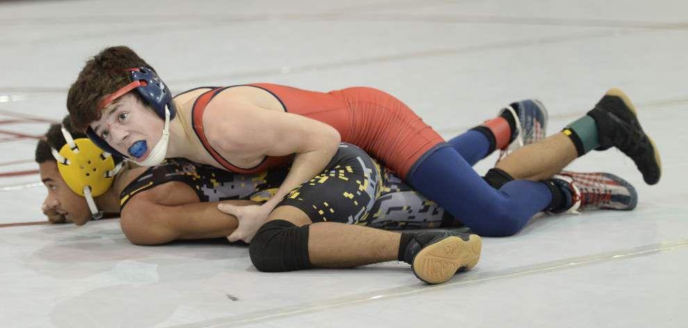 Brother Martin runs away Louisiana Classic wrestling title; Lafayette High's Rodrigo Diaz wins 220-pound weight class _lowres