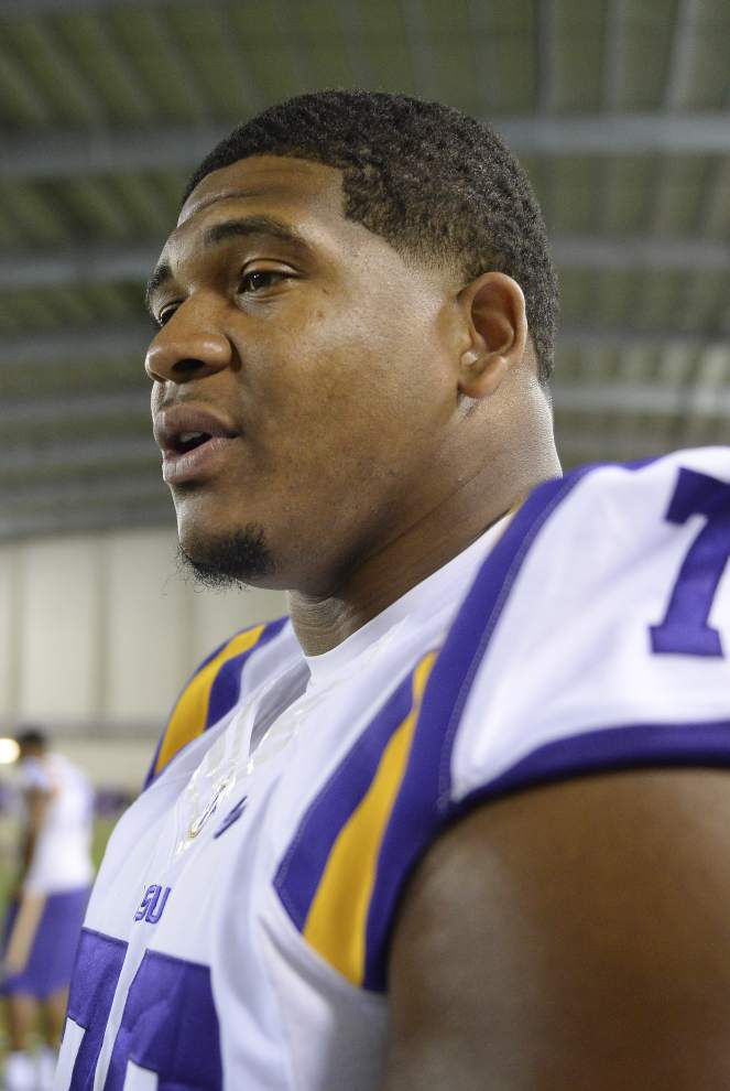 La'el Collins hires private investigator, to meet Baton Rouge police about pregnant woman's death after NFL draft _lowres