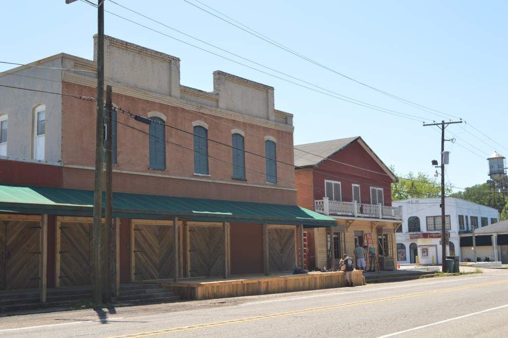 Buildings in Clinton, Jackson get facelifts for movie, TV show filming _lowres