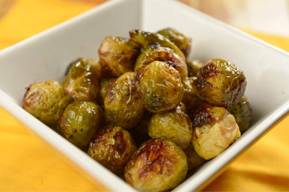 Eat Your Vegetables: Roasted Brussels sprouts a Moss family favorite _lowres