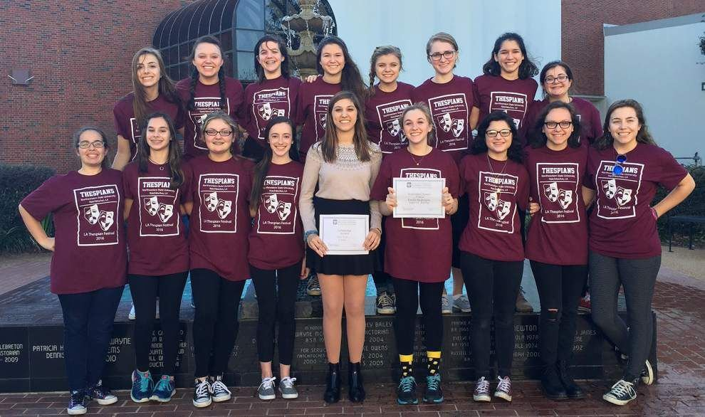 Three from Mount Carmel honored for performances at thespian festival _lowres