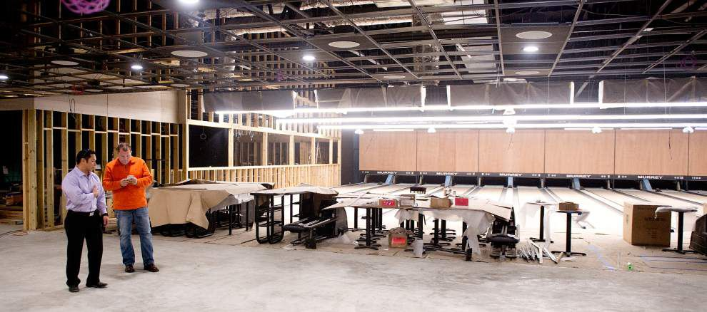Investment group finishing work on West Bank bowling alley _lowres