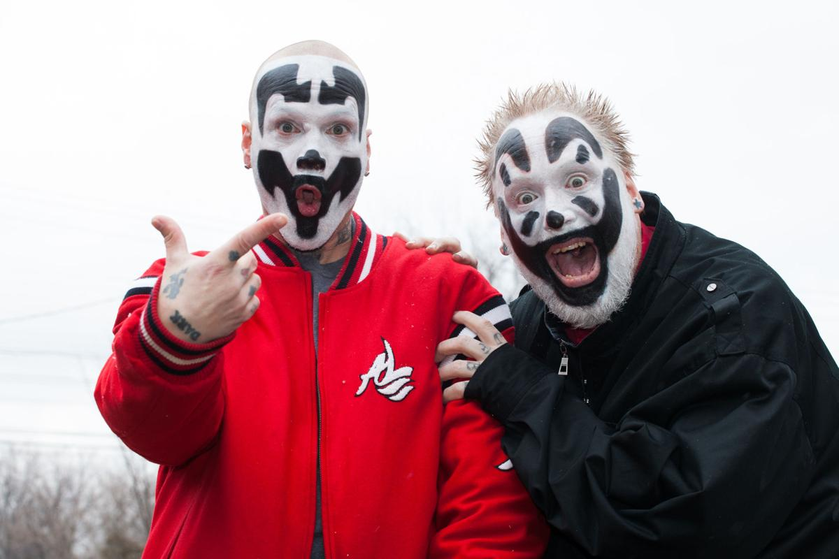 Insane Clown Posse press photo for Red