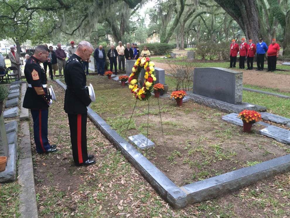 Marines celebrate 240th birthday with ceremony honoring Barrow _lowres