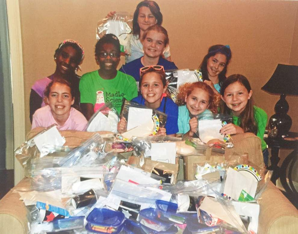 Geismar, Gonzales Girl Scouts receive high honors _lowres