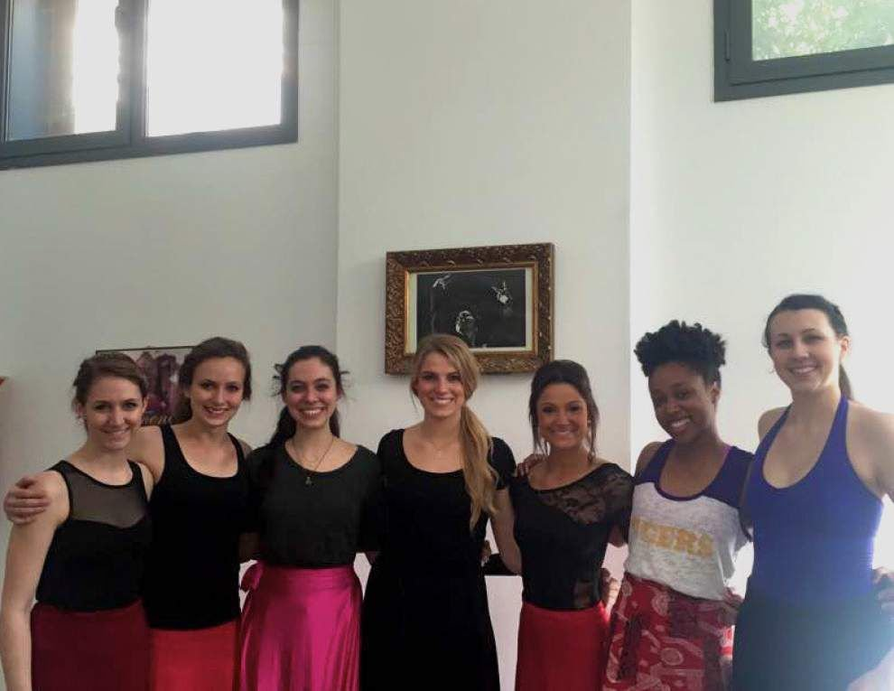 LSU dancers travel to Spain _lowres