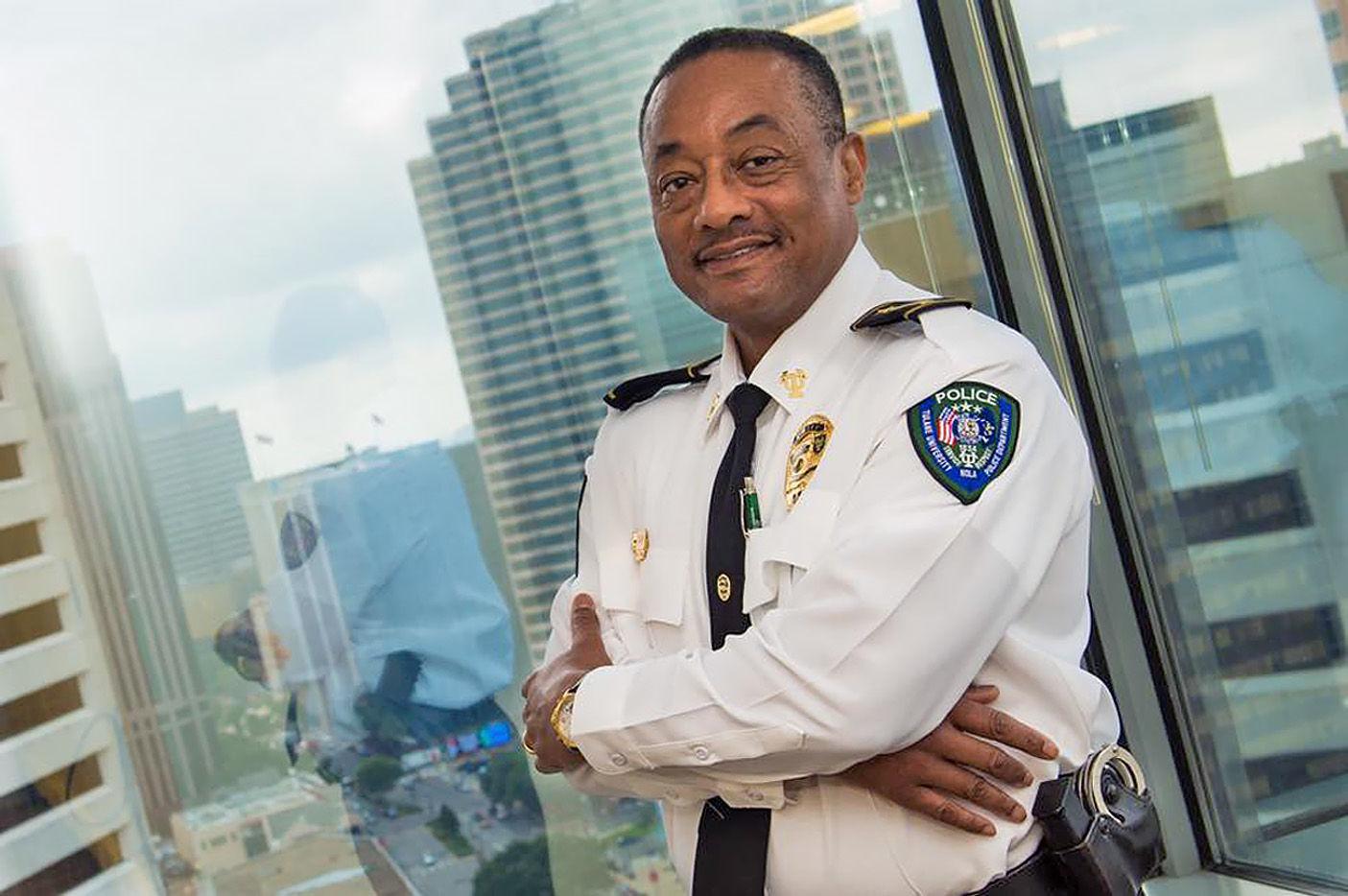 Tulane University Police Department Police Chief Joseph