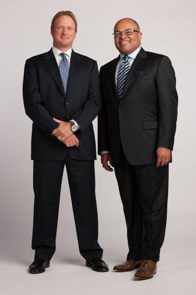Jon Gruden and Mike Tirico - May 15, 2012