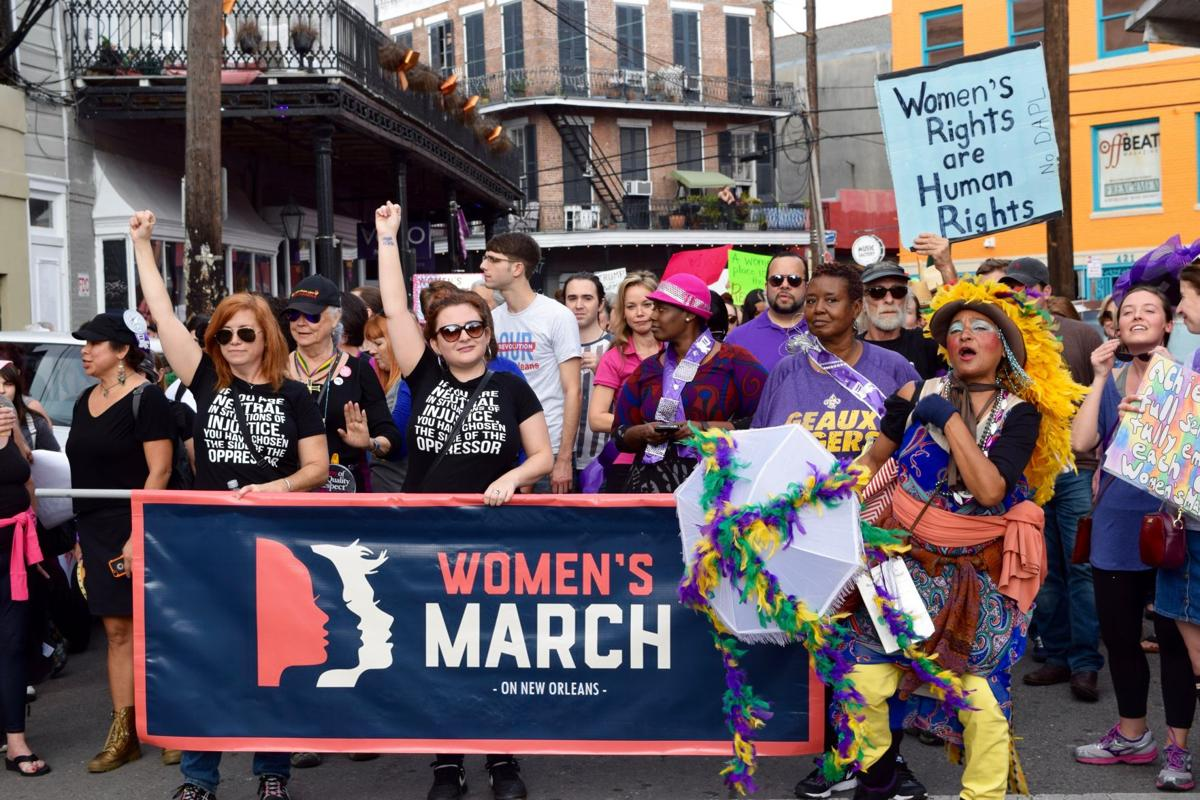 Huge crowds attend New Orleans Women's March Jan. 21 (slideshow)_lowres
