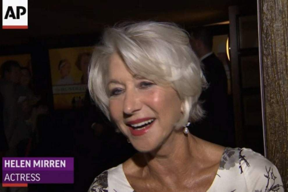 Mirren advises 'hungry' audience _lowres