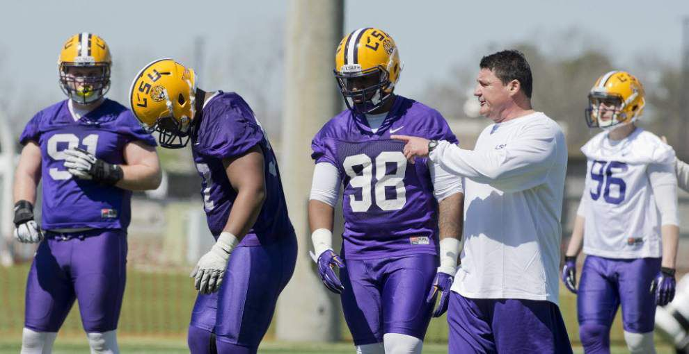 Depth an issue for LSU's defensive line, but Davon Godchaux says 'let the fans know we're going to be ready' _lowres