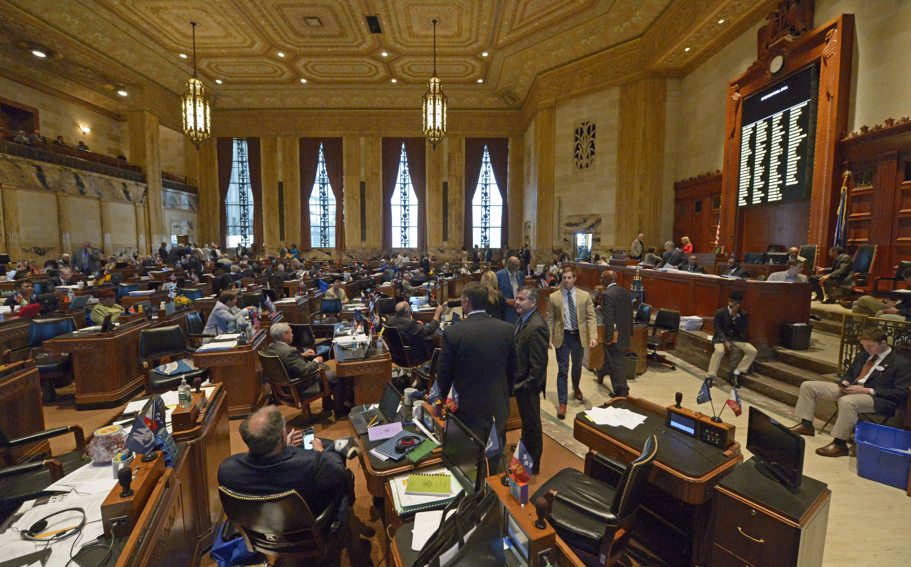 House Panel Advances Special Sessionu0027s First Tax Measure; Temporary Sales  Tax Bill Now Heads To House Floor