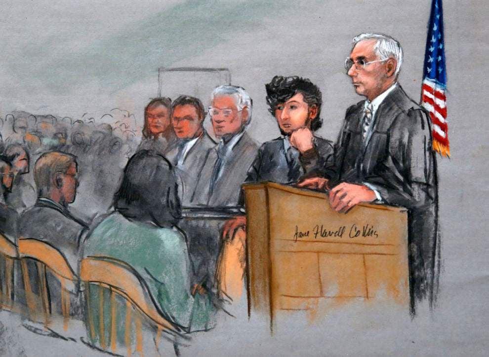 Jury selection begins in federal death penalty trial for Boston Marathon bombing suspect Dzhokhar Tsarnaev _lowres